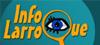 Logo de Info Larroque